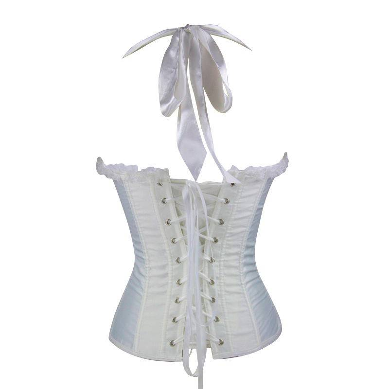 Bridal Corset White Heavily Padded Bodice