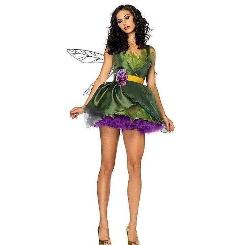 Costume Exquisite Magical Woodland Fairy with Wings
