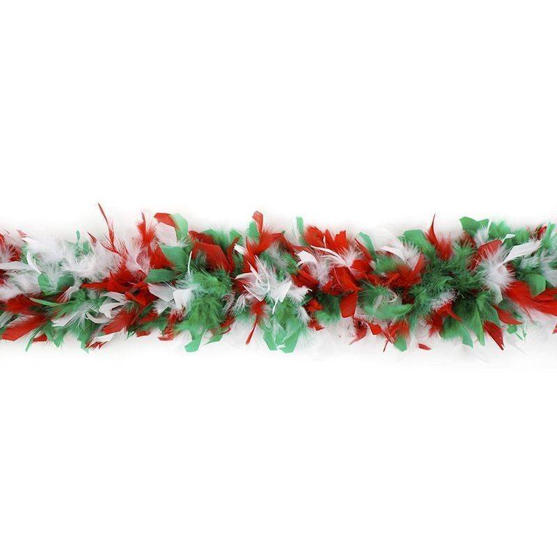 Feather Boa Christmas Style Colors