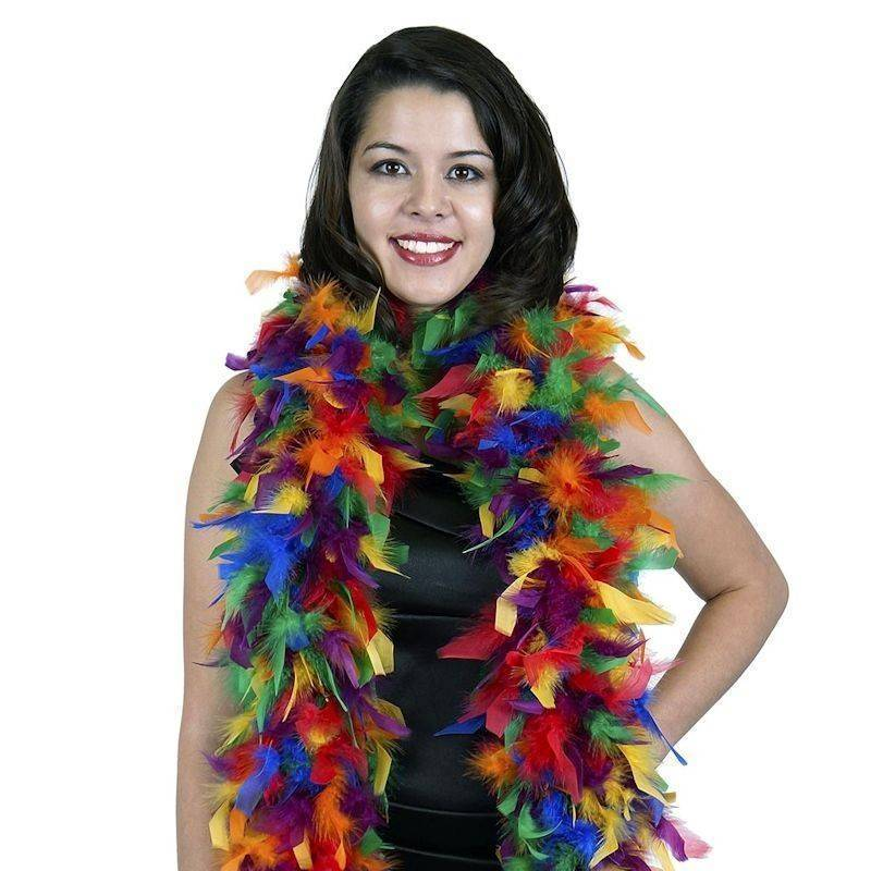 Feather Boa Multicolored for your Costume