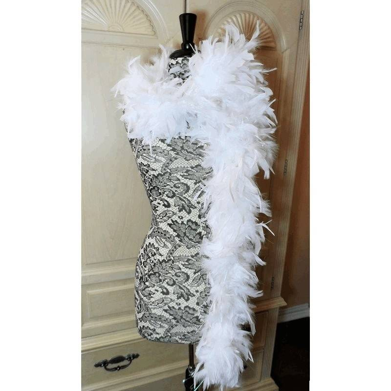 Feather Boa with Opal Sheen for Your Costume