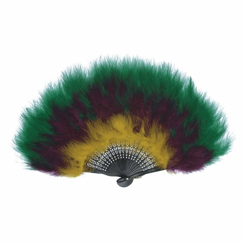 Feather Fan Two or More Colors for your Costume