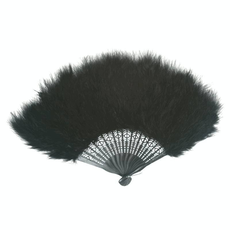 Feather Fan for Your Costume Single Color