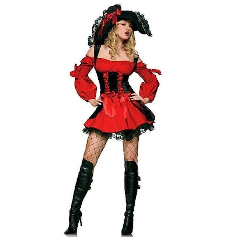 Costume Female Pirate Enchantress in Plus Sizes