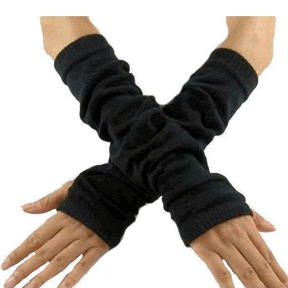 Gloves Finger-less in Black