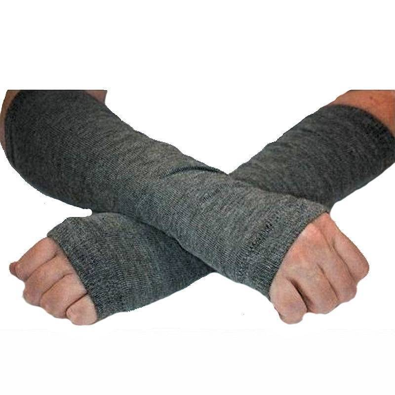 Gloves Finger-less Gray
