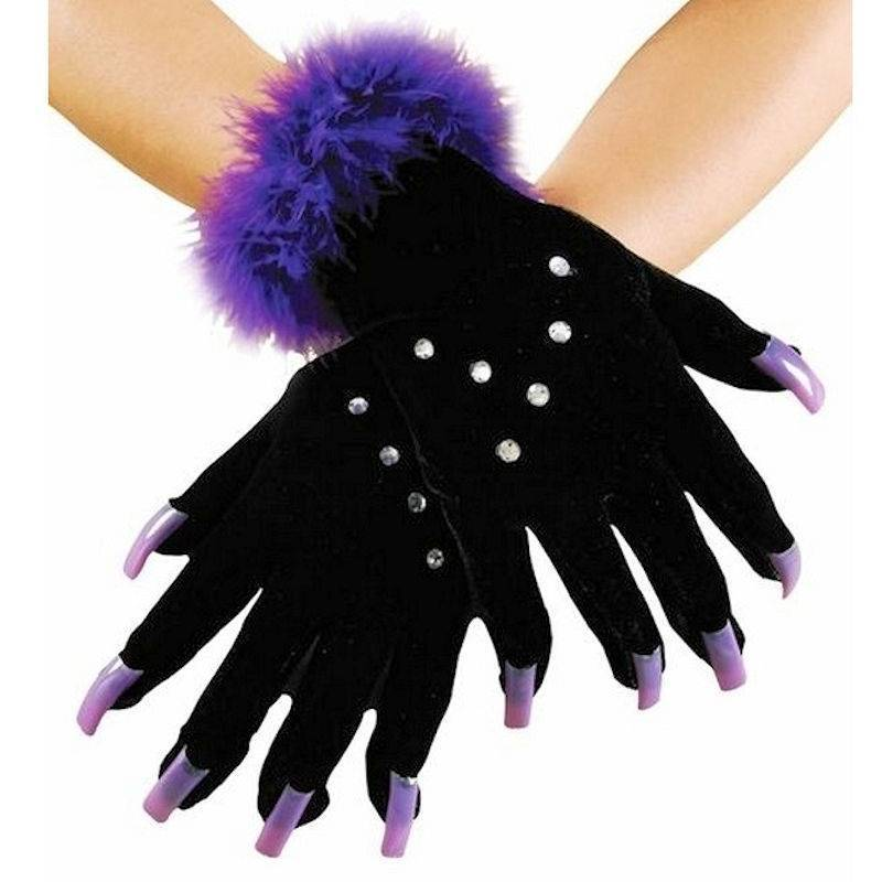Gloves Halloween Sparkle