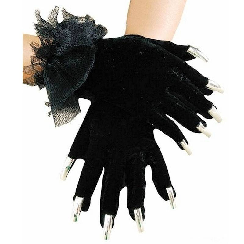 Gloves Halloween Spider Style
