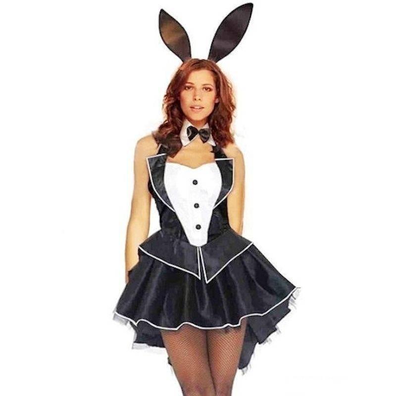 c35b7f238 Costume Playboy Bunny Sexy Tuxedo Style
