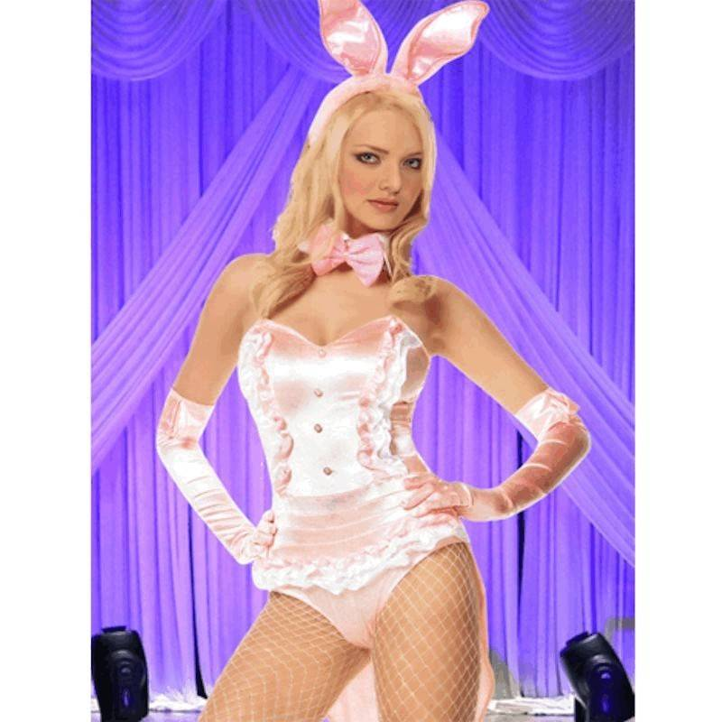Costume Halloween Pink Playgirl Bunny
