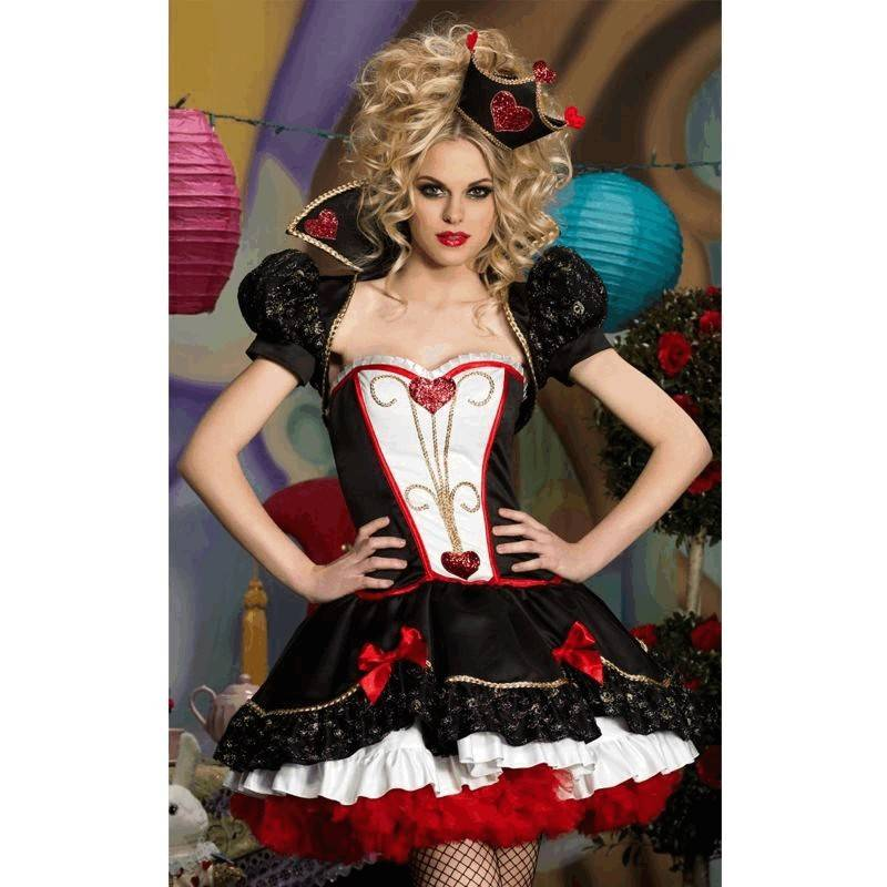 Costume Queen of Hearts Deluxe Style
