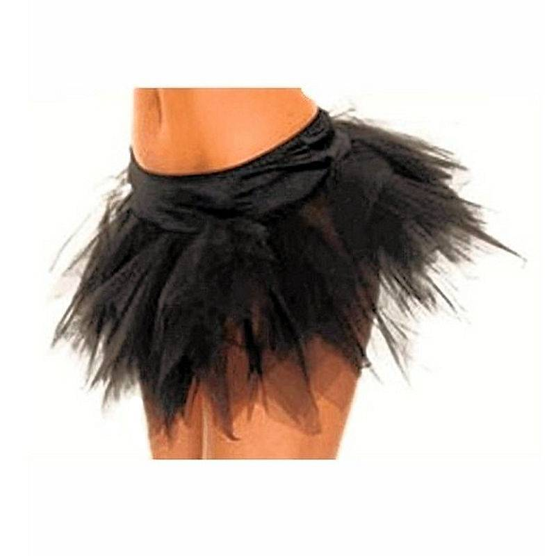 Skirt in Black of a Fairy Sprite for Costumes