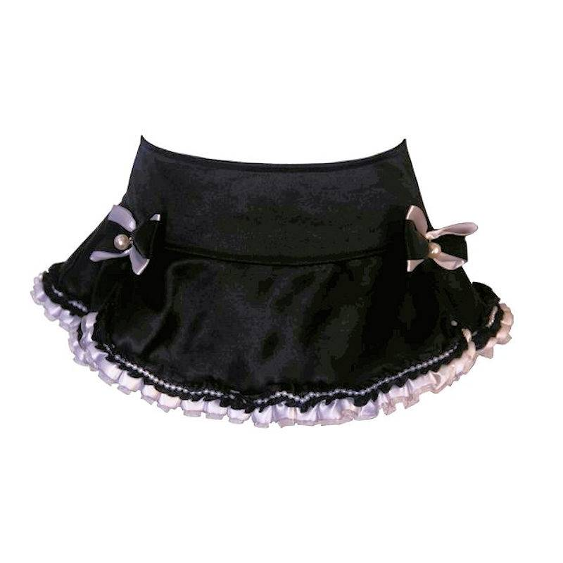 Skirt French Maid Style with Pearl Beads