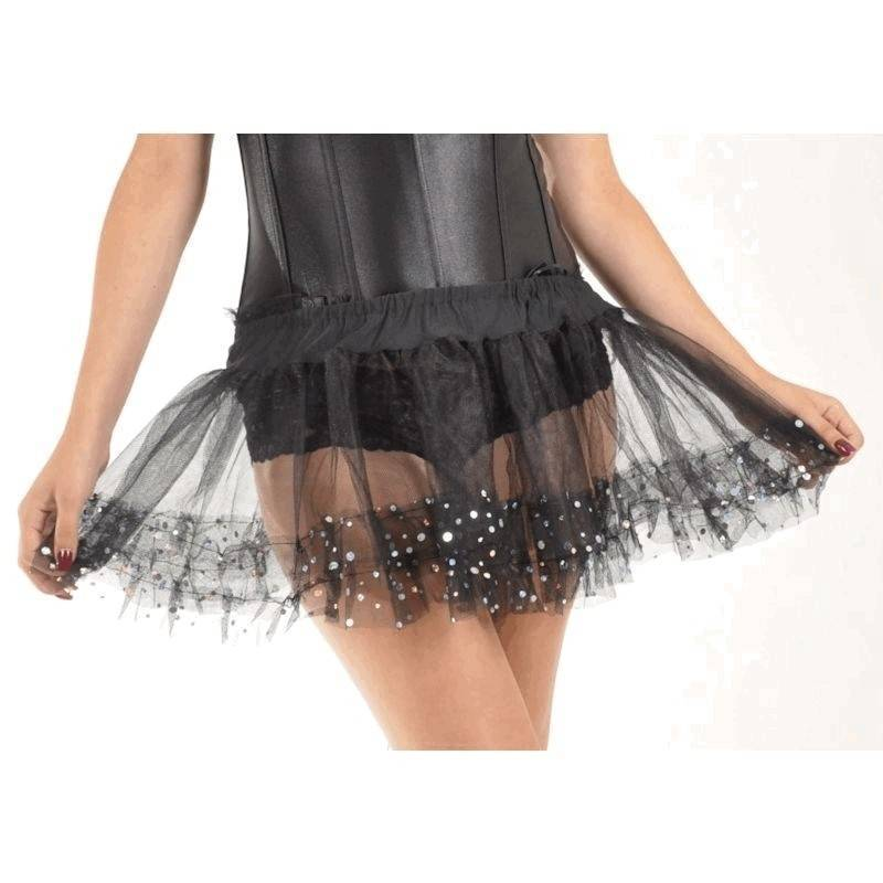 Skirt Sequin Tutu for Your Costume
