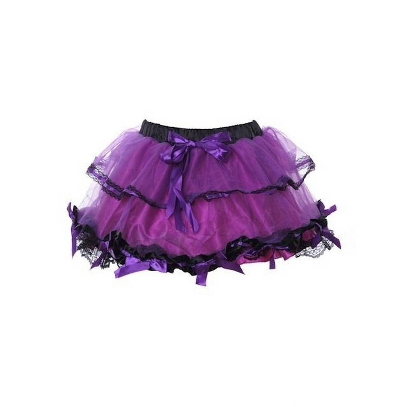 Skirt Short with Enchanting Bow Trim