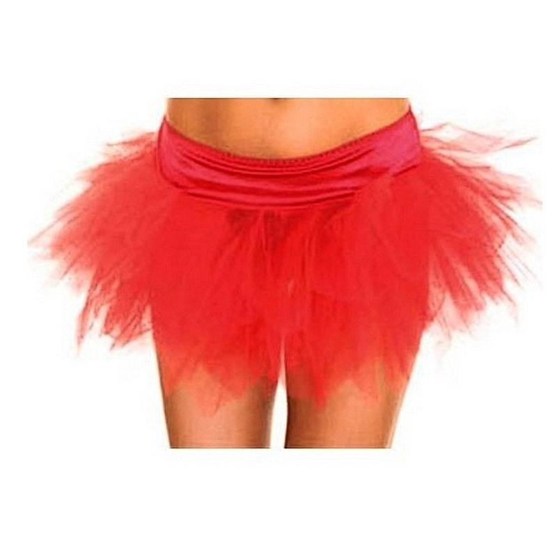 Skirt in Red of a Fairy Sprite for Costumes
