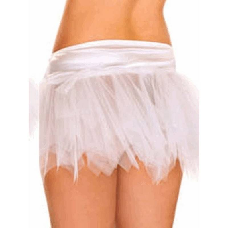 Skirt in White of a Fairy Sprite for Costumes