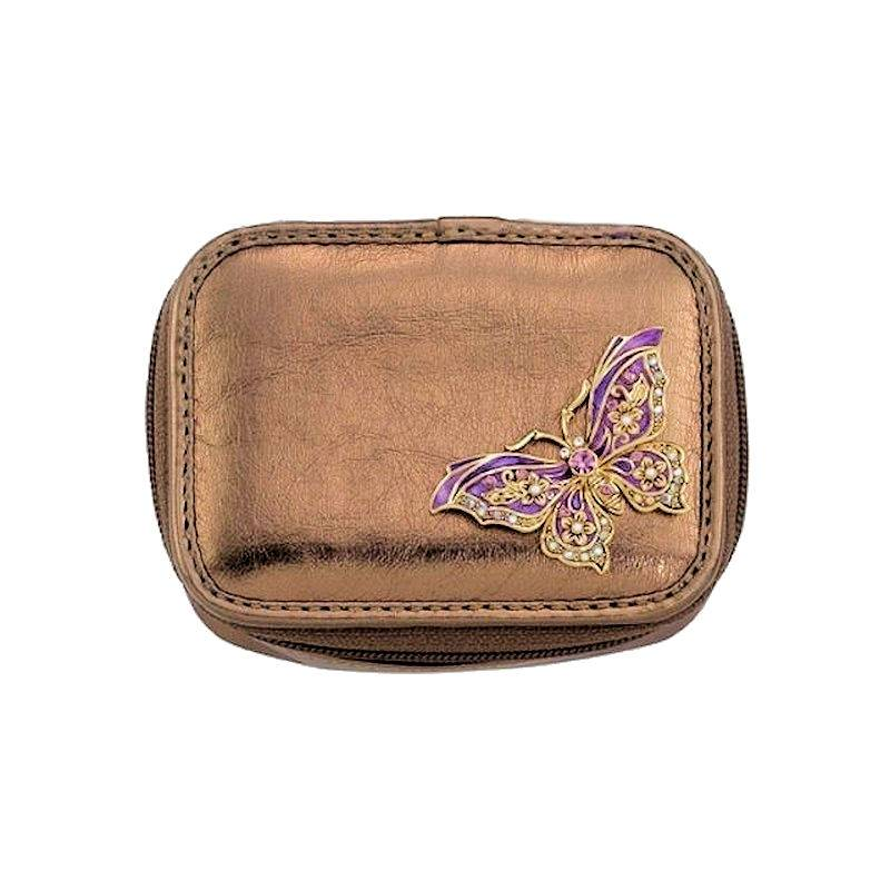 Pillbox Organizer 7 Day Butterfly Dazzle