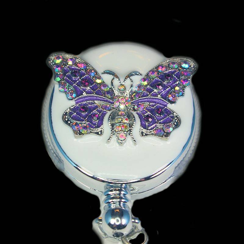 Badge Holder Butterfly Beauty with Retractable Reel