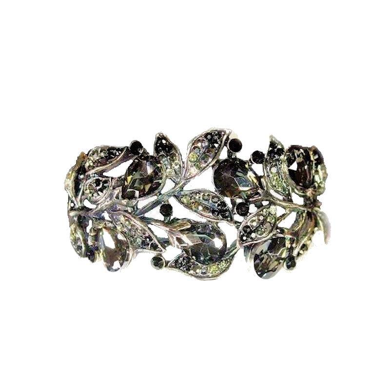 Bracelet Enchanted Forest Black Crystal