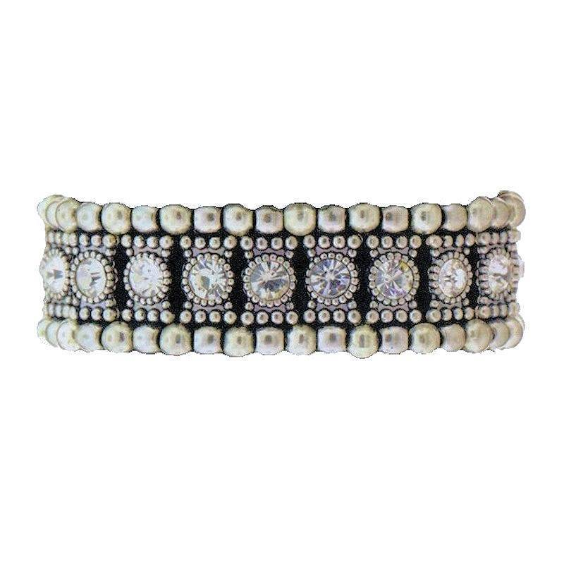 Bracelet Enchanting Crystal Balls in Stretch Style