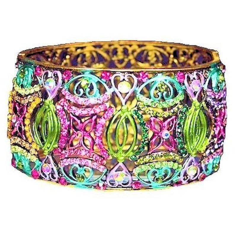 Bracelet Multicolored Bangle for a Fairy Princess