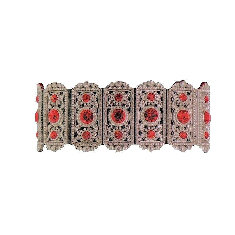 Bracelet Imperial Red Crystal Royalty