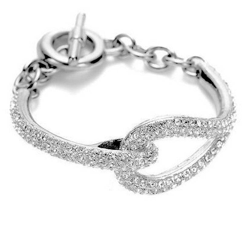 Bracelet Chain of Love in Silver by Spring Street Designs