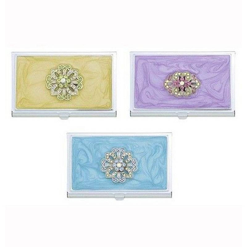 Metal Wallet and Cardholder Designer Pastels
