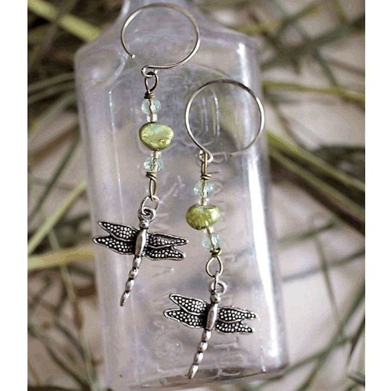Earrings Dragonfly Delights