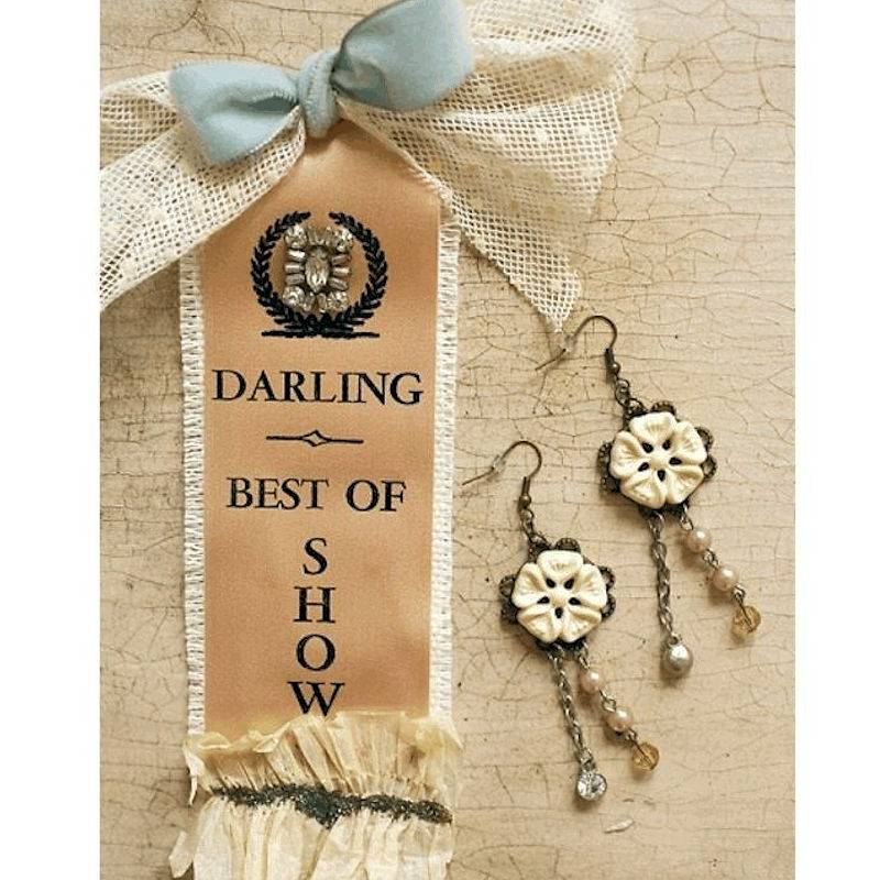 Earrings Vintage Radiance Best of Show