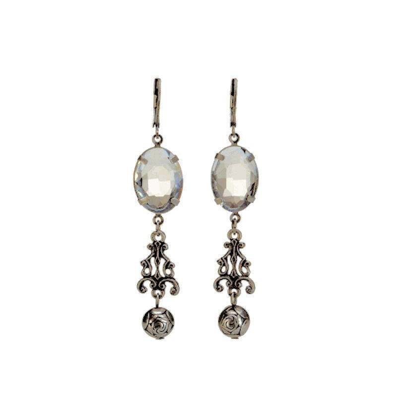 Earrings Crystal Chandelier Magnificence