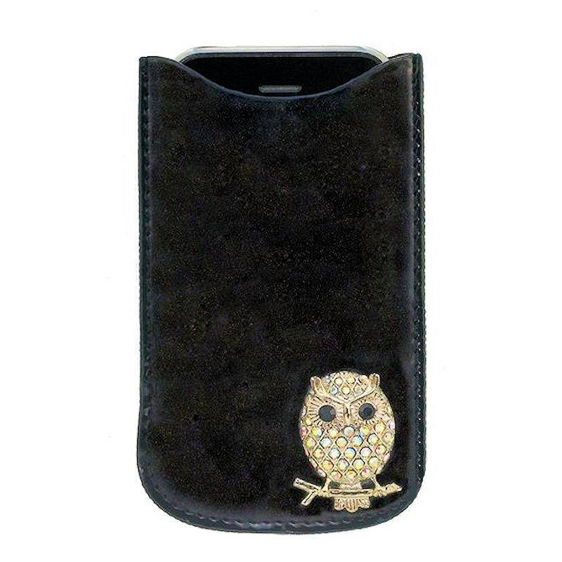 Owl I-Phone Case Crystal Jeweled by Spring Street Designs
