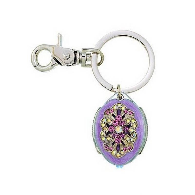 Key-chain in Designer Pastels with LED Light by Spring Street
