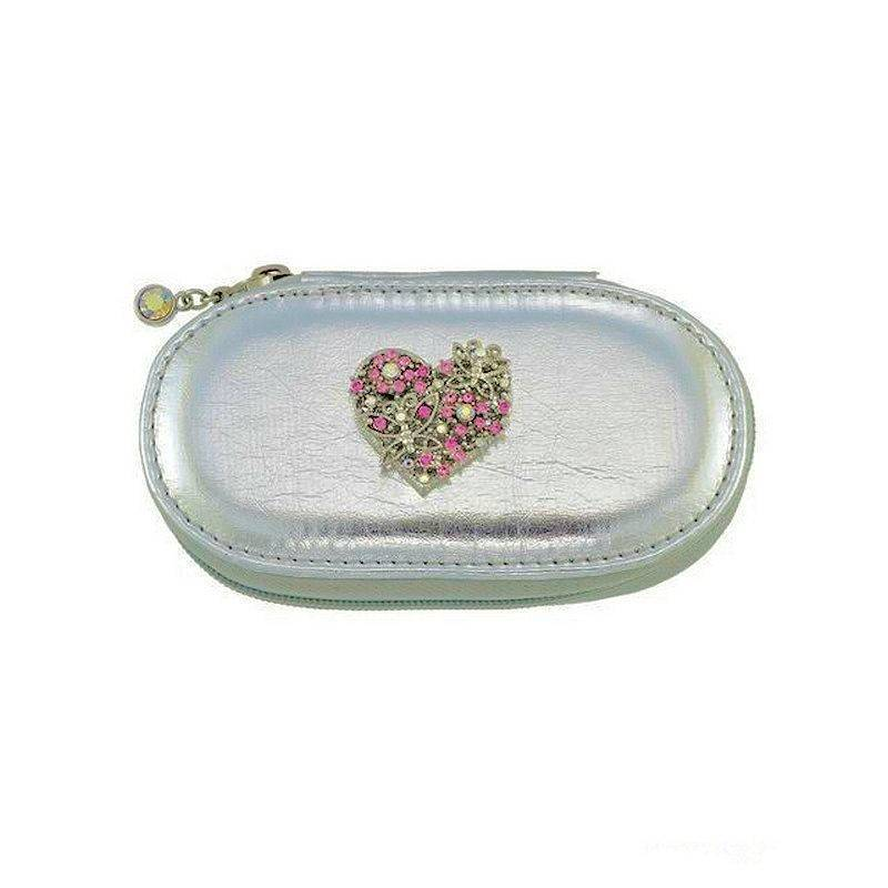Manicure Kit Wallet for Your Purse Valentine Heart Jewel