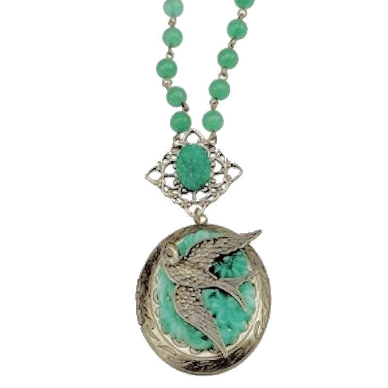 Necklace Jaded Desire Locket