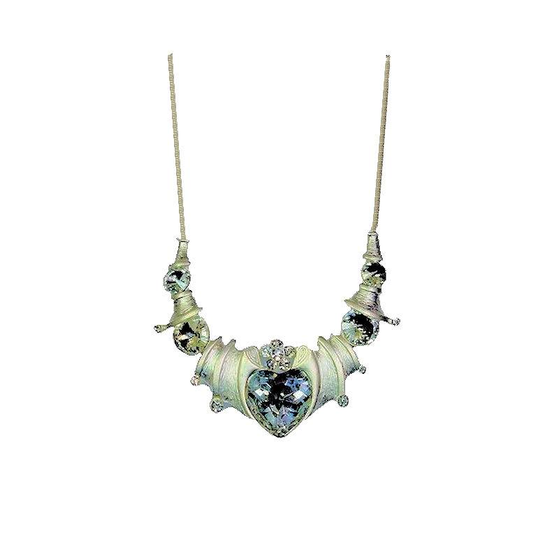 Necklace Her Royal Majesty Glittering Crystal Heart