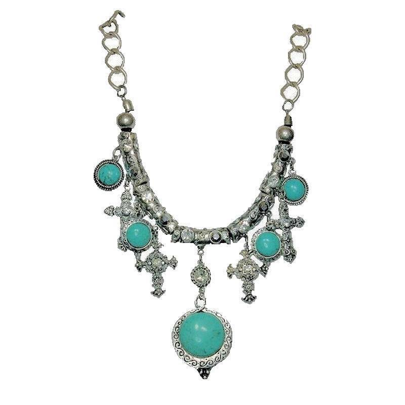 Necklace Turquoise Indian Princess Enchantment