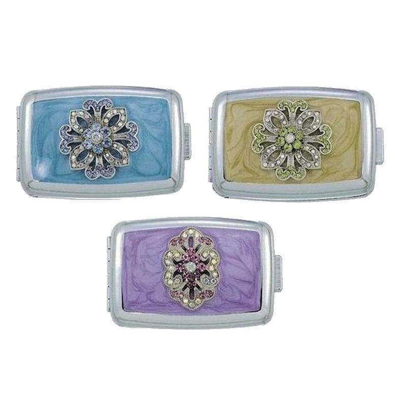 Pillbox for Your Purse Designer Pastels by Spring Street Designs