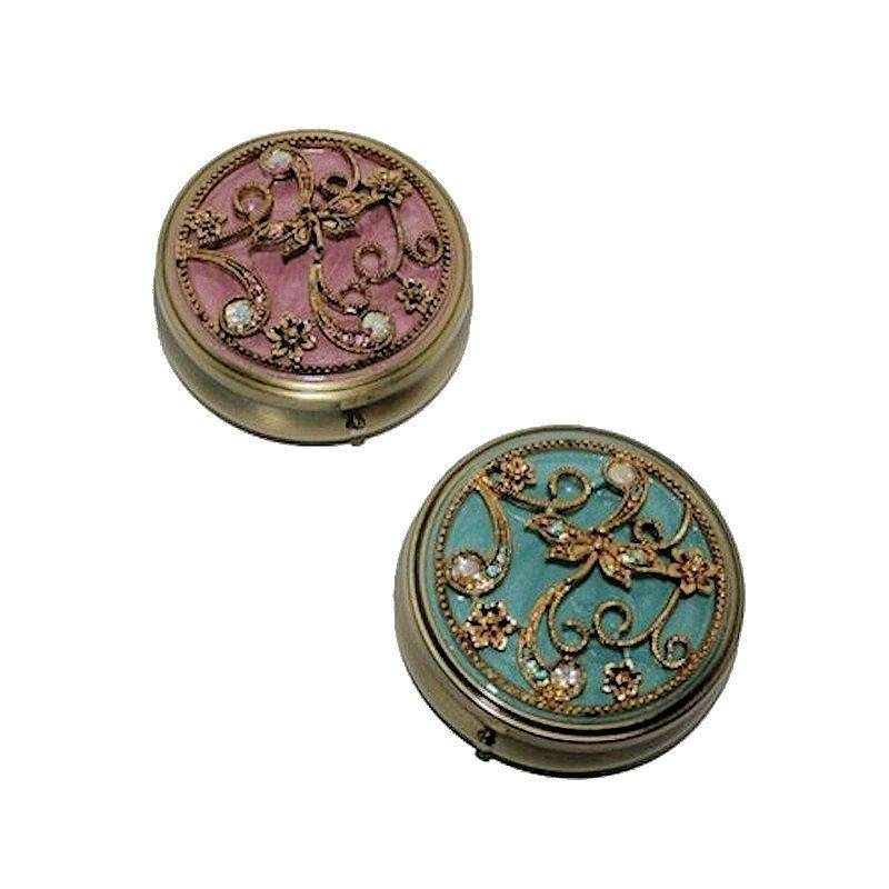 Pill Box for Your Purse Elegance Collection