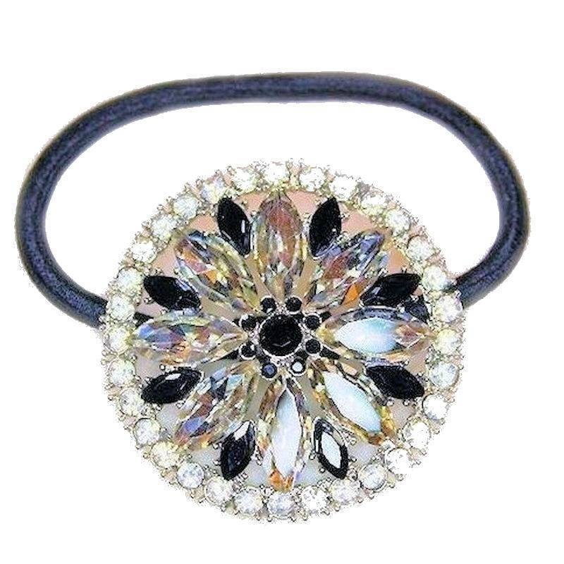 Ponytail Holder Crystal Casino Royalty by Spring Street Designs