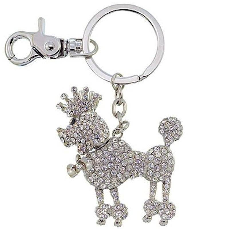 Key-chain Crystal Brilliance Poodle Puppy