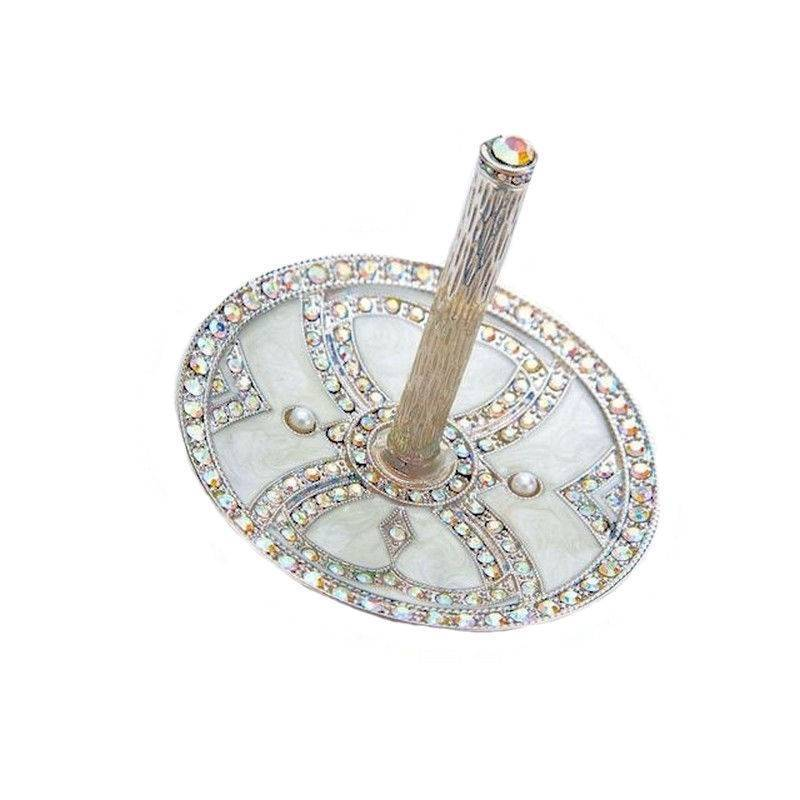 Bridal Ring Holder Crystal Masterpiece Wedding Bells Collection