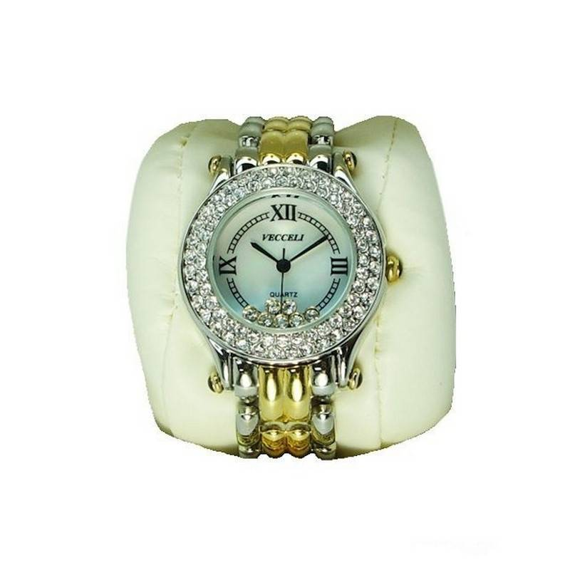 Watch with Crystals in Gorgeous Ceramic Box