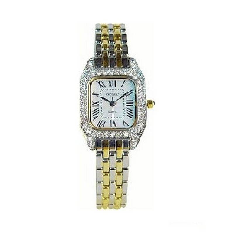 Watch with Crystals in Porcelain Egg Gift Box